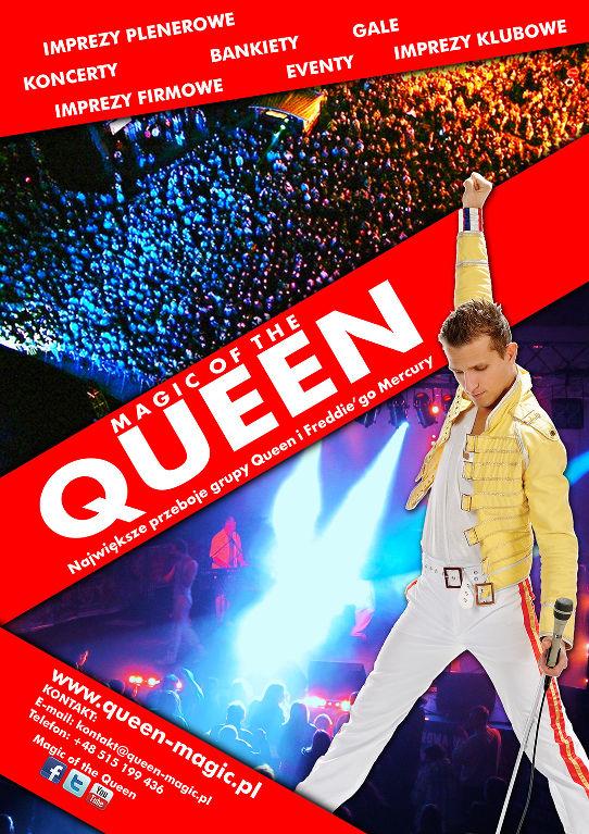 oferta zespołu muzycznego - Magic of the queen: imprezy plenerowe, koncerty, bankiety, koncerty, gale, imprezy firmowe, eventy, imprezy klubowe
